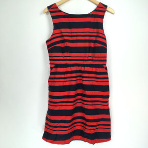 The Limited 8 Dress A-Line Pocket Red Blue